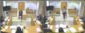 Torres Hurtado e Isabel Nieto, ante la jueza que instruye el caso.