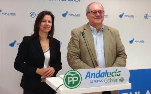 Ana Vanessa García y Antonio Ayllón.