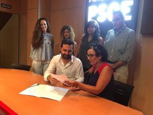 Noel López ha formalizado este lunes su candidatura.