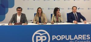 Diputados andaluces del PP por Granada.
