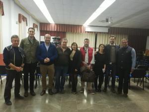 Olga Manzano y Juan José Martín Arcos han participado en la reunión.