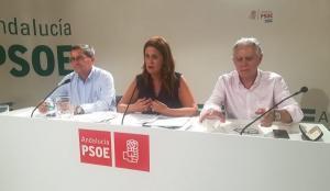 De izquierda a derecha, José Entrena, Sonia Gaya y Francisco Menacho.
