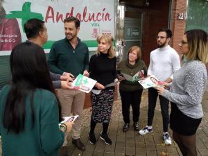 Presentación de propuestas electorales sobre empleo del PSOE.