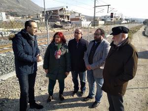 Los diputados y el senador del PSOE por Granada han visitado este jueves Loja.