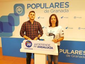 Rafael Caracuel y Ana Vanesa García.