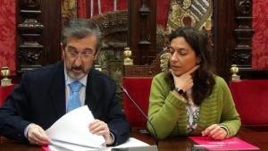 Mayte Olalla y Rafael Romero.