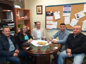 Reunión celebrada en Láchar.