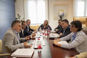 Imagen de la reunión,