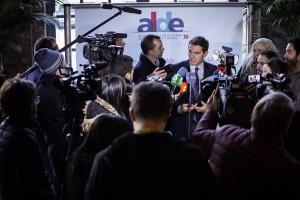 Albert Rivera, este jueves en Bruselas.