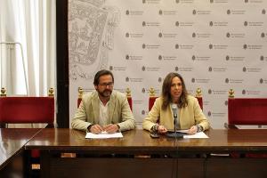 Rocío Díaz y Antonio Granados.