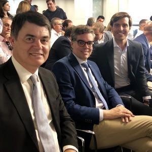 Carlos Rojas, Vicente Azpitarte y Pablo Montesinos.