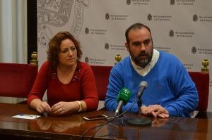 María del Carmen Pérez y Francisco Puentedura.