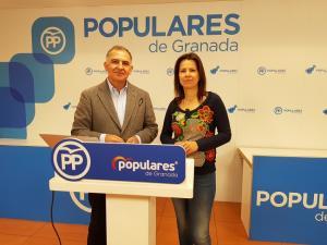 Santiago Pérez y Ana Vanessa García.