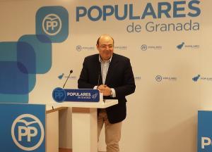 Sebastián Pérez, este jueves en rueda de prensa.