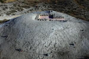 Uno de los enclaves de la necrópolis de Galera.