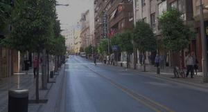 Recogidas, sin vehículos, en un 'domingo sin coches.