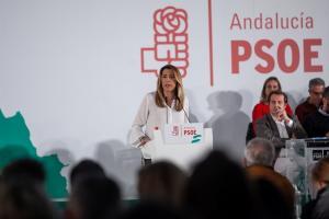 Susana Díaz, en el Comité Director del PSOE-A.