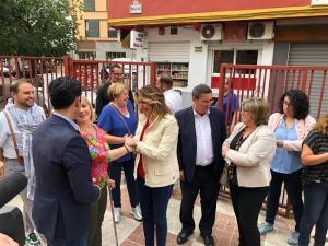 Susana Díaz, este viernes en Granada.