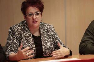 Teresa Jiménez, secretaria general del PSOE de Granada.