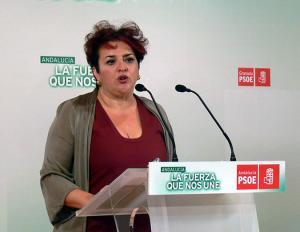 Teresa Jiménez, este martes en rueda de prensa.