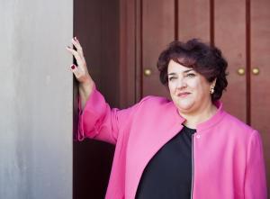 Teresa Jiménez, en su última entrevista como secretaria general del PSOE de Granada.