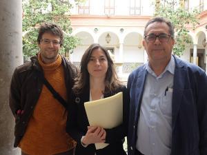 Los representantes de Vamos Granada.