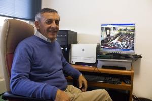 El catedrático de Matemática Aplicada de la UGR Victoriano Ramírez.
