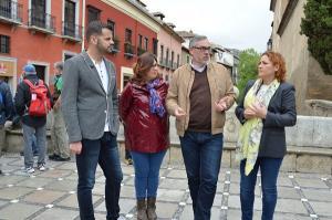De izquierda a derecha, Chus Fernández, Lidia Milena, Héctor Gachs y María del Carmen Pérez.