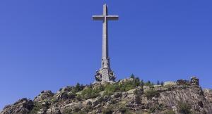 Detalle de la Cruz del Valle de los Caídos.