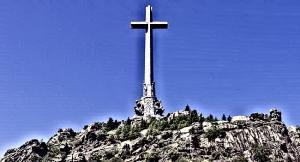 Detalle del Valle de los Caídos.