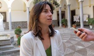 La concejal Marta Gutiérrez.