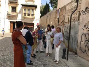 Visita de los concejales del PP al entorno del Cuarto Real.