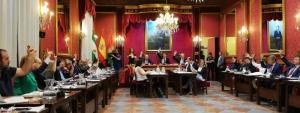 Cs y PP han sacado adelante todos los puntos con los votos de PSOE y Podemos-IU-Adelante.