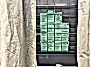Una cabina de votación.