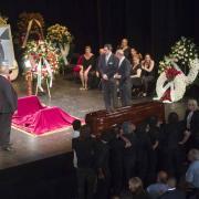 El escenario esperaba a Juan Carmona 'Habichuela'.