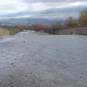 Otra vista del río Dílar a su paso por la Vega.