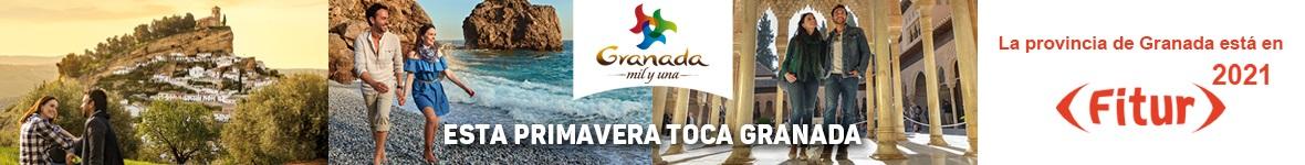 La provincia está en Fitur 2021, porque esta primavera toca Granada.