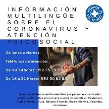 Infocoronavirus. Iniciativa de Médicos del Mundo.