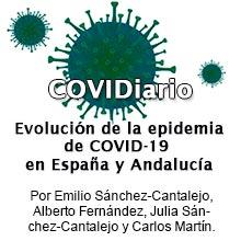 Evolución de la epidemia de COVID-19  en España y Andalucía