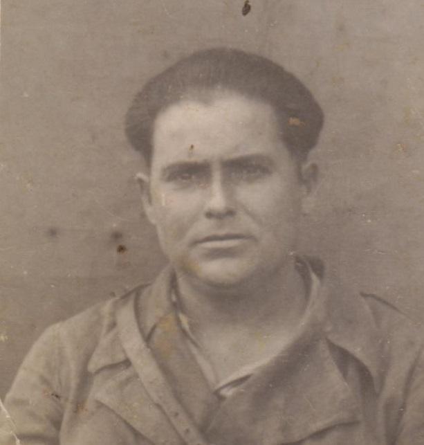 Manuel Valor Cara, combatiente republicano en la guerra civil (1936-1939).