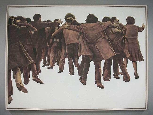 'El abrazo' de Juan Genovés, 1976.
