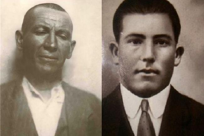 Alejandro Rodríguez (izquierda) y Félix Izquierdo.