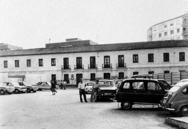 Antiguo Cuartel de la Guardia Civil de Motril, en la Plaza de la Aurora.