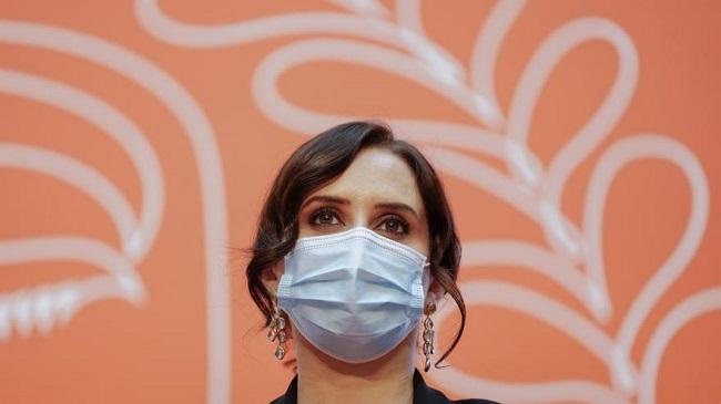 Isabel Díaz de Ayuso.