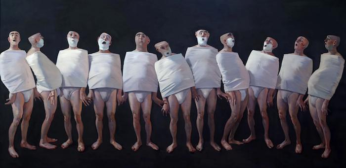'Cumbre', de la serie 'Los mediocres'. Andrés García Ibáñez.