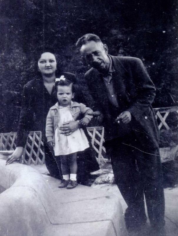 José Antonio Narciso Bravo Martínez, en 1944 en Mecina Bombarón.
