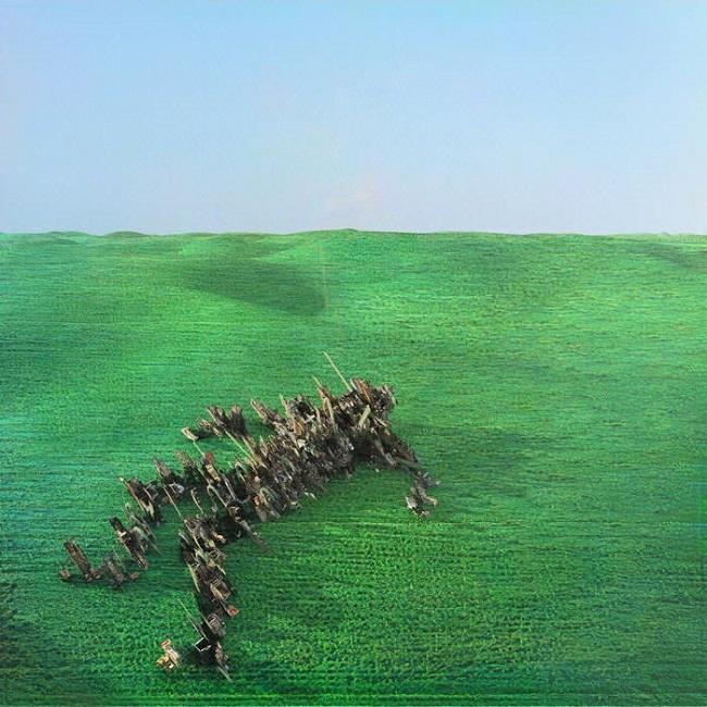 Portada de 'Bright Green Field', de 'Squid'.