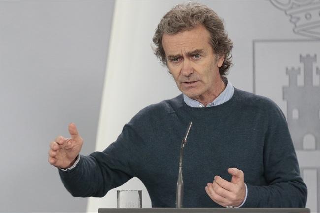 Intervención de Fernando Simón, director del Centro de Coordinación de Alertas y Emergencias Sanitarias.