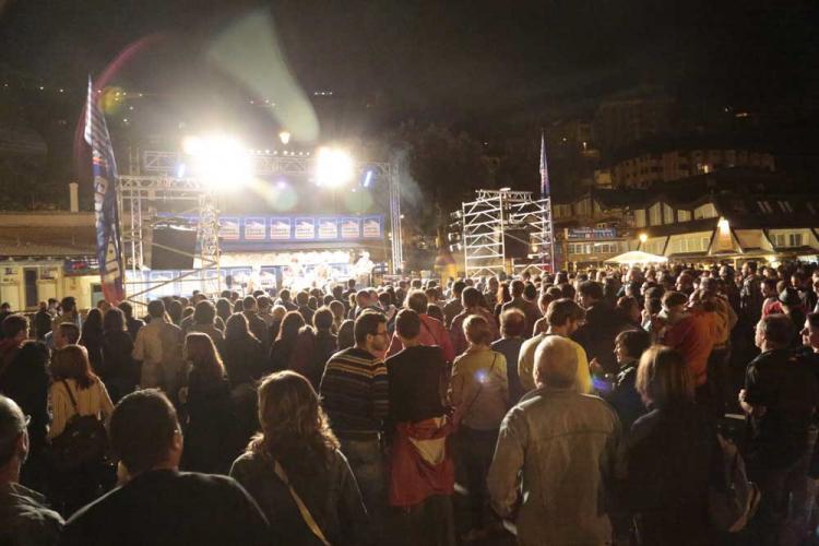Uno de los conciertos del pasado verano en Sierra Nevada.