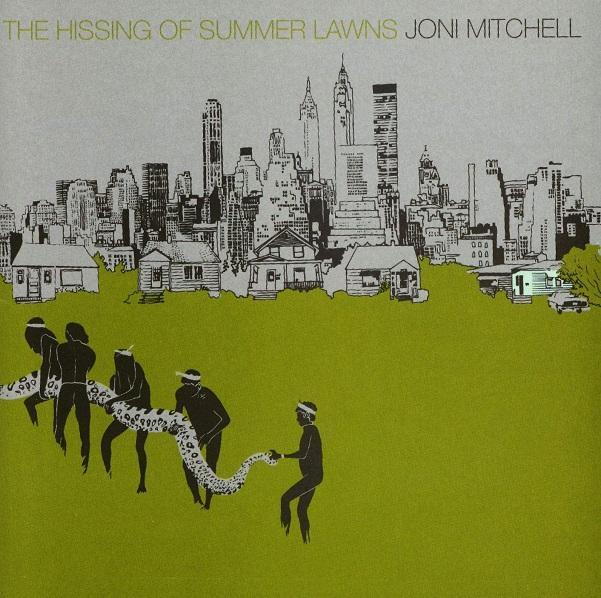 Portada de 'The Hissing of Summer Lawns', de Joni Mitchell.